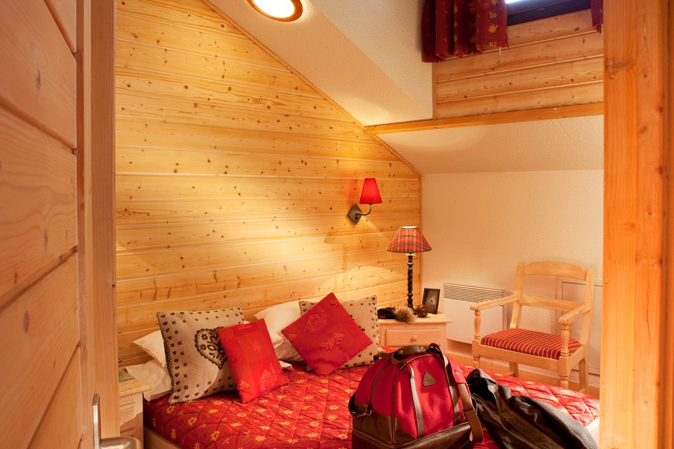 Eureka Val, Val d'Isere (Espace Killy) - Double Bedroom