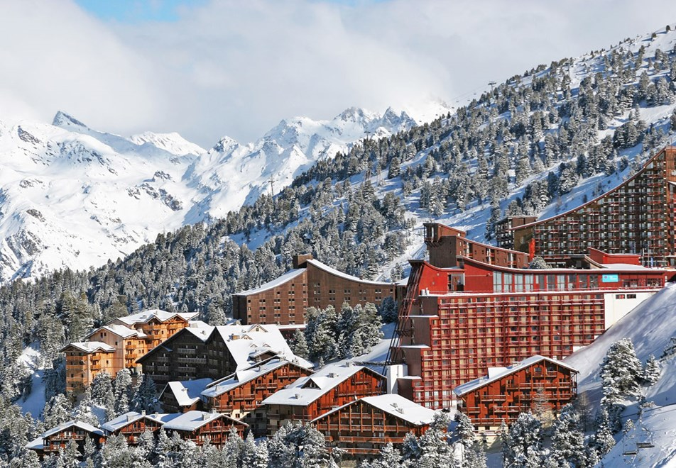 Arc 2000 Ski Resort - Highest resort in Les Arcs