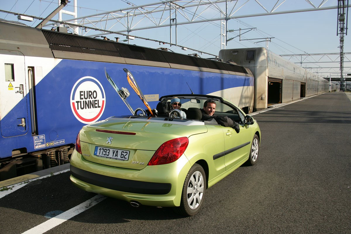 Travel to the French Alps - Eurotunnel Shuttle