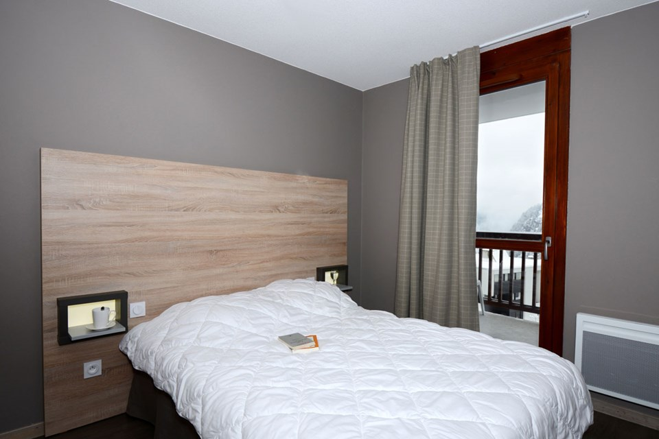 Le Panoramic, Flaine (Grand Massif) - Double Bedroom