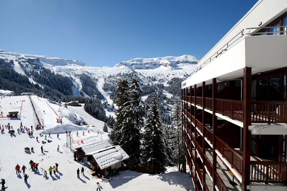 Le Panoramic, Flaine (Grand Massif) - Large balconies offering panoramic views