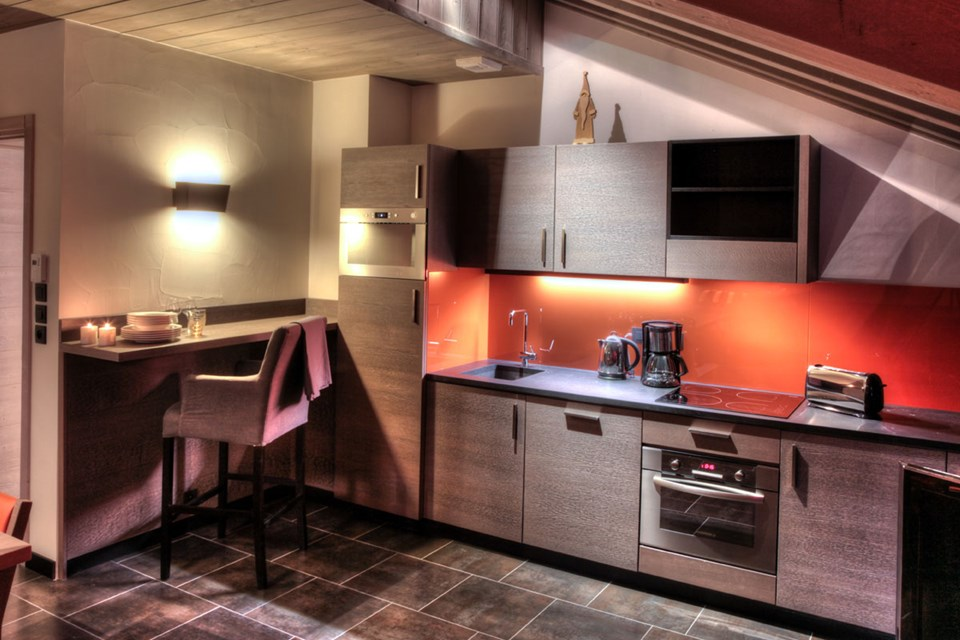 Montana Plein Sud, Val Thorens (3 Valleys) - Kitchen