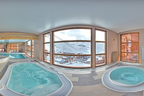 Les Balcons Platinium, Val Thorens (3 Valleys) - Indoor Pool & Jacuzzis