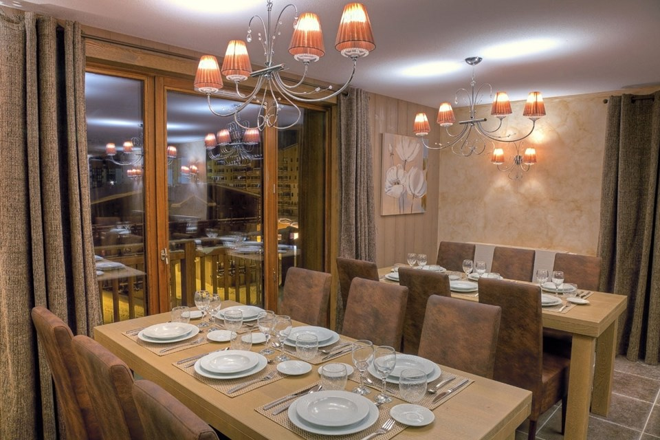 Les Balcons Platinium, Val Thorens (3 Valleys) - Dining Area