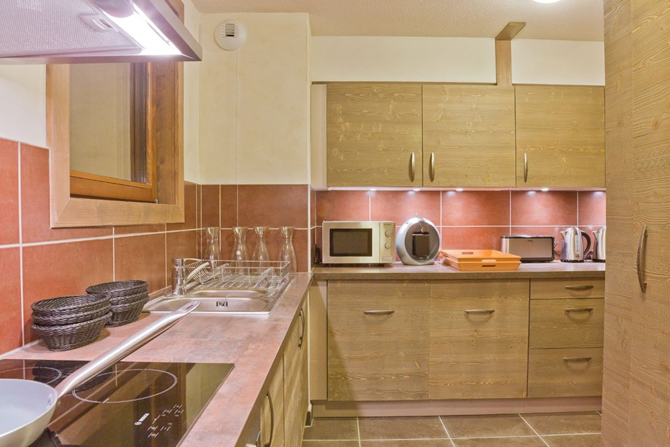 Les Balcons Platinium, Val Thorens (3 Valleys) - Kitchen