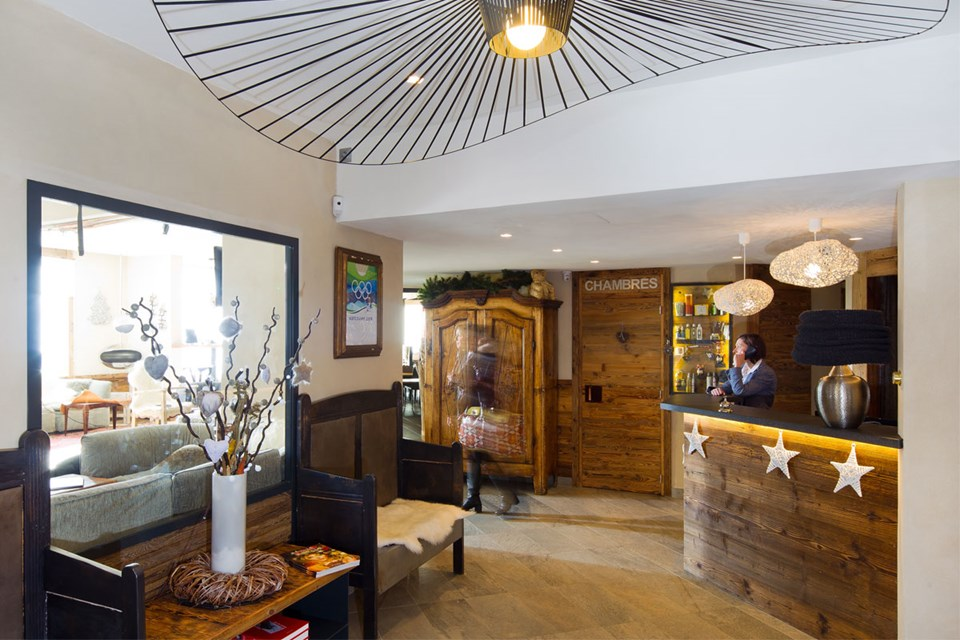 Hotel Les 3 Vallees, Val Thorens (3 Valleys) - Reception