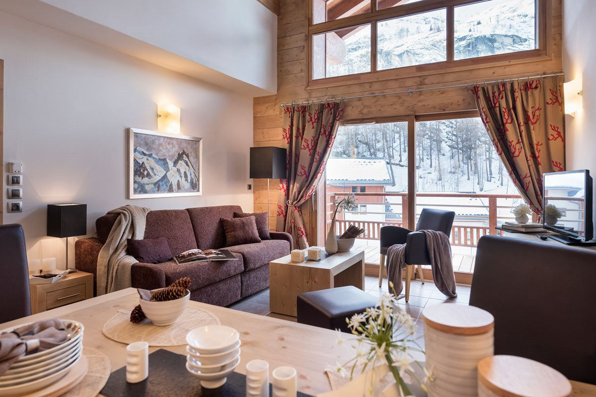 French Alps High Altitude Ski Holiday Types