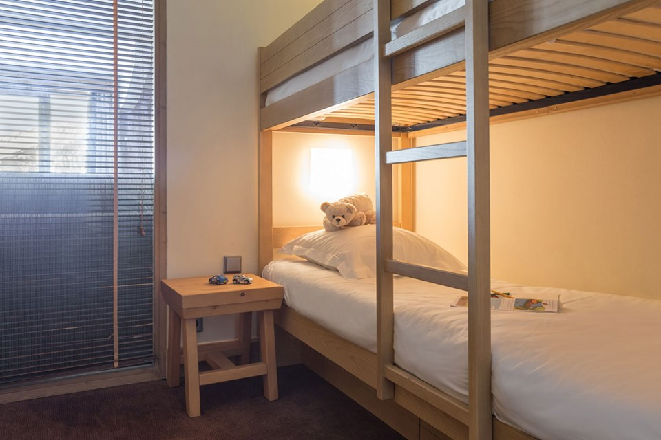 Chalets du Forum, Courchevel (3 Valleys) - Bunk Room