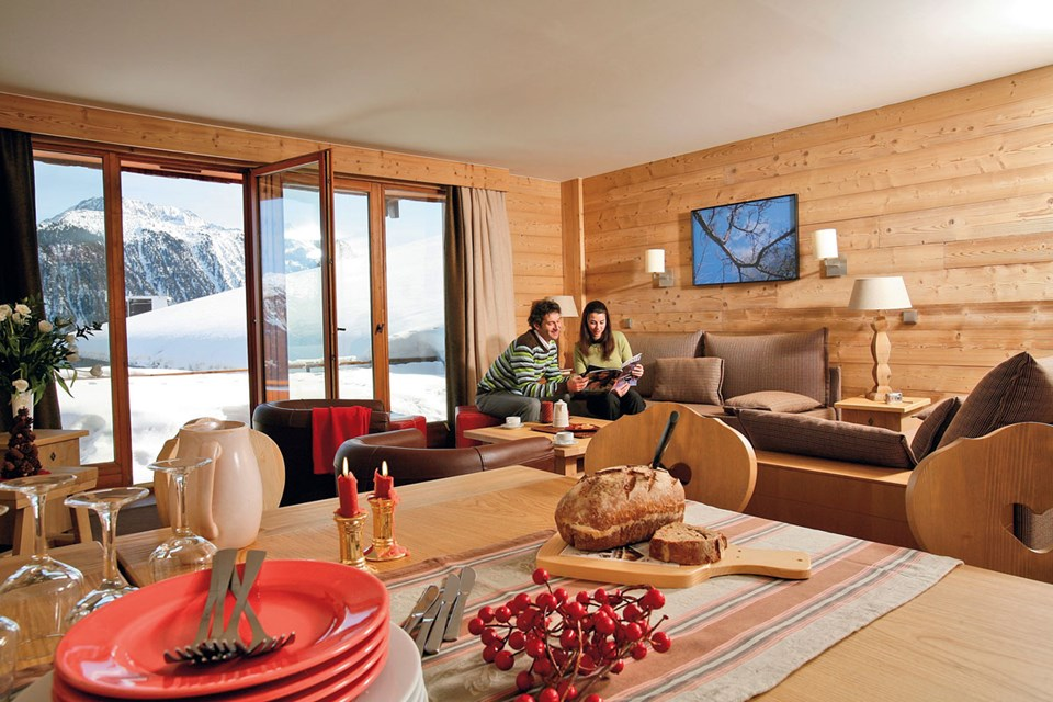 Chalets du Forum, Courchevel (3 Valleys) - Living Area