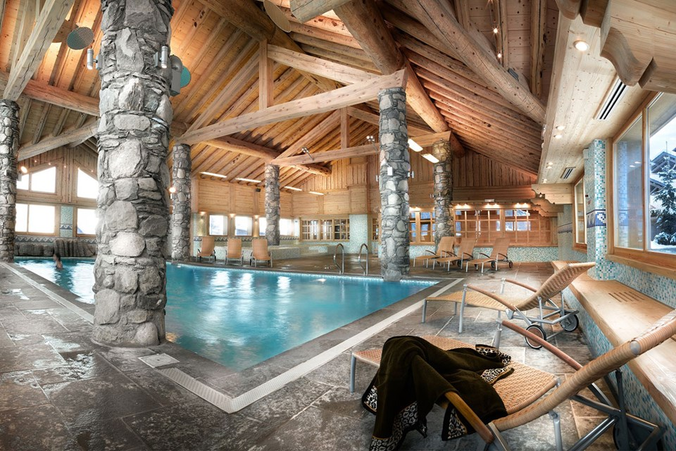 Oree des Cimes, Peisey Vallandry (self catered apartments) - Indoor Pool