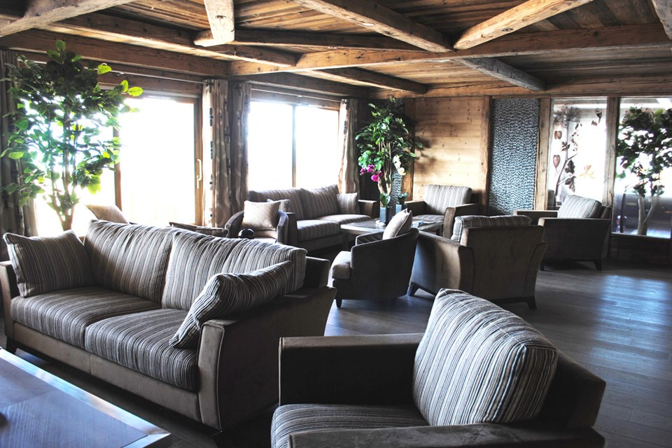 Oree des Neiges, Peisey Vallandry (self catered apartments) - Reception