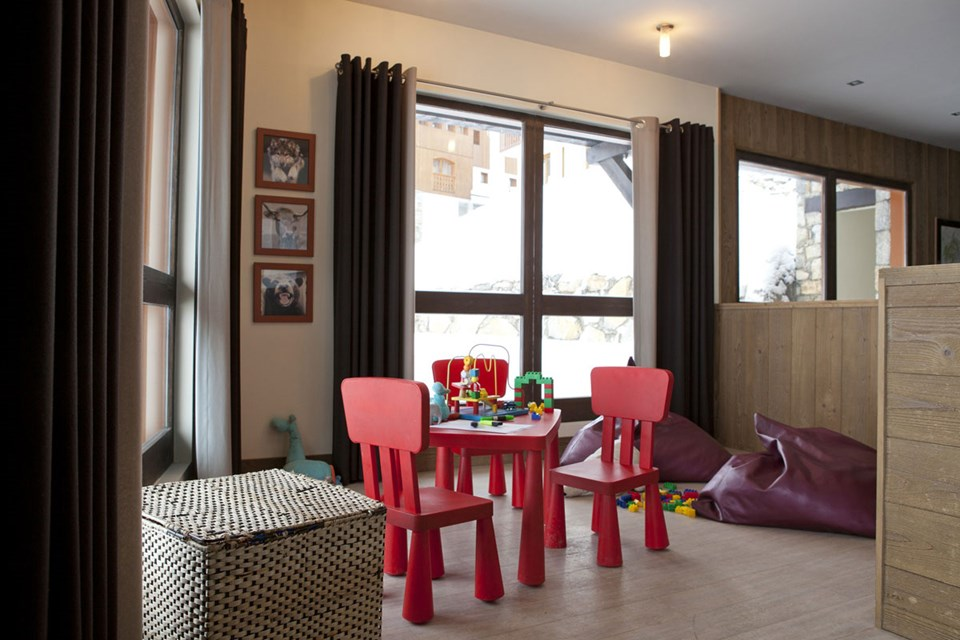 Les Nereides, Belle Plagne (self catered apartments) - Kids Play Area