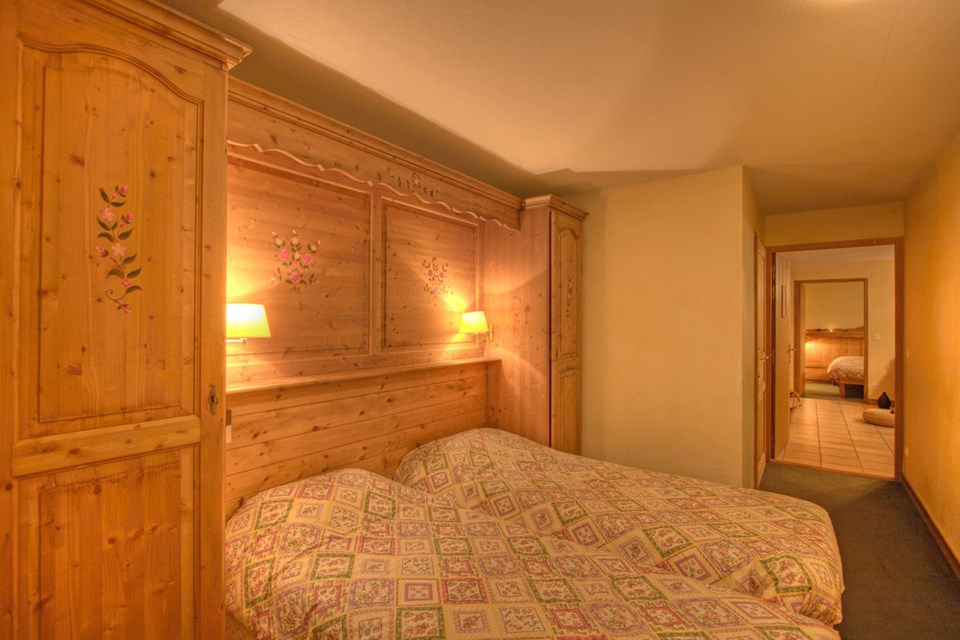 Balcons de Belle Plagne,  La Plagne (Paradiski) - Twin Bedroom