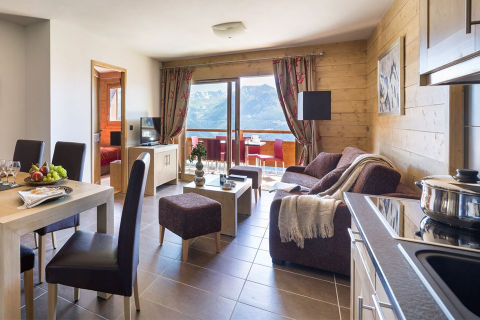 Lodge Hemera, La Rosiere (self catered apartments) - Apartments