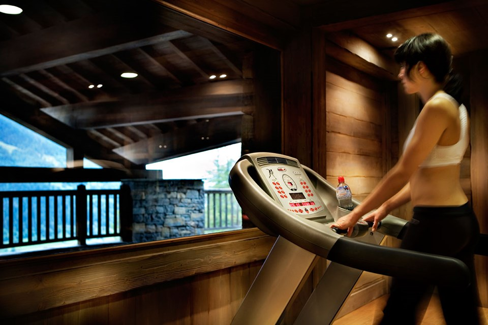 Les Fermes de Sainte Foy, Sainte Foy (Tarentaise Valley) - Gym