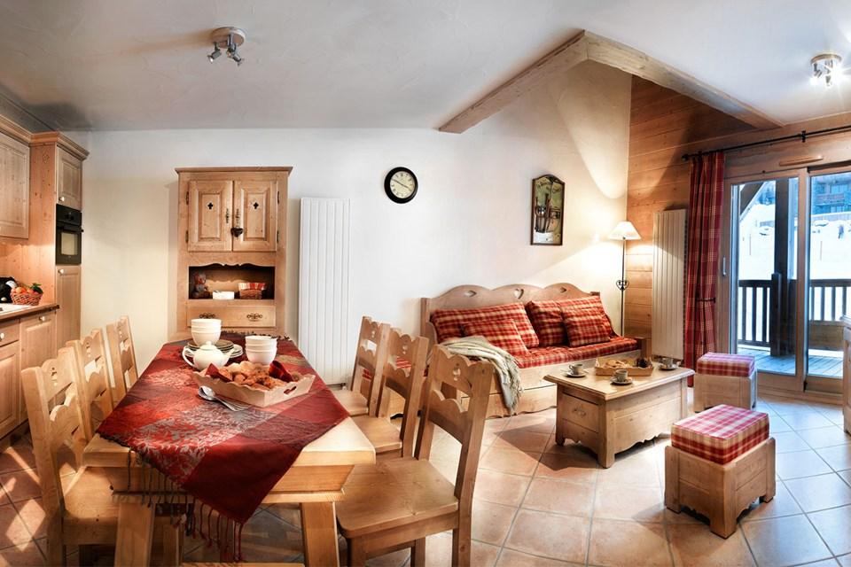 Les Fermes de Sainte Foy, Sainte Foy (Tarentaise Valley) - Living Area