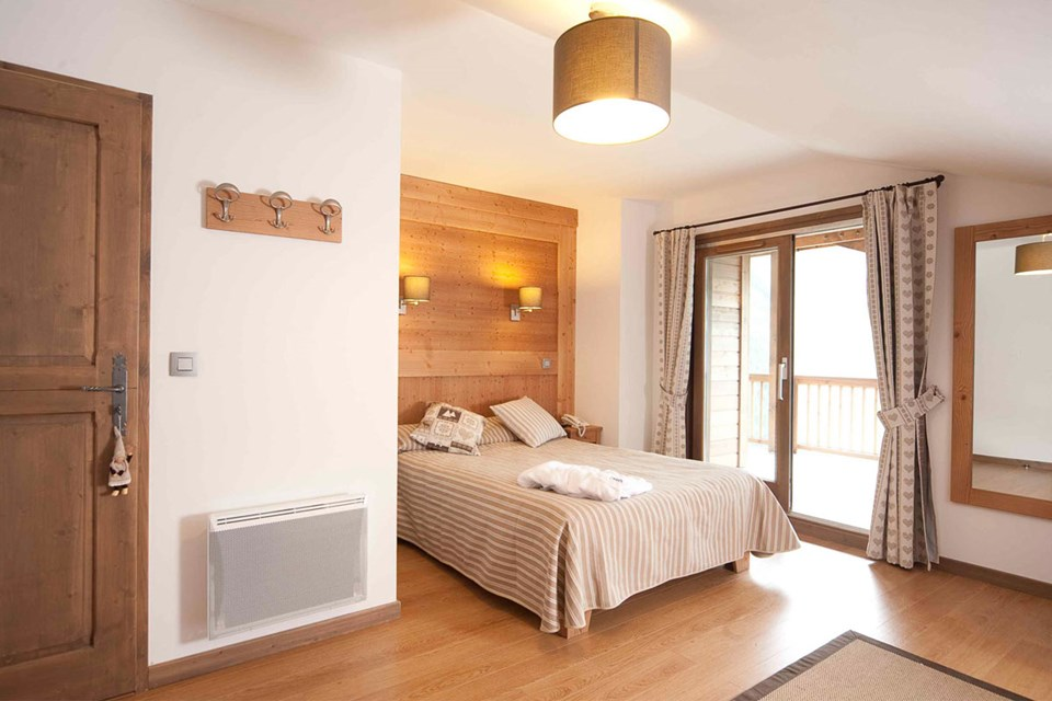 Le Ruitor, Sainte Foy (Tarentaise Valley) - Double Bedroom