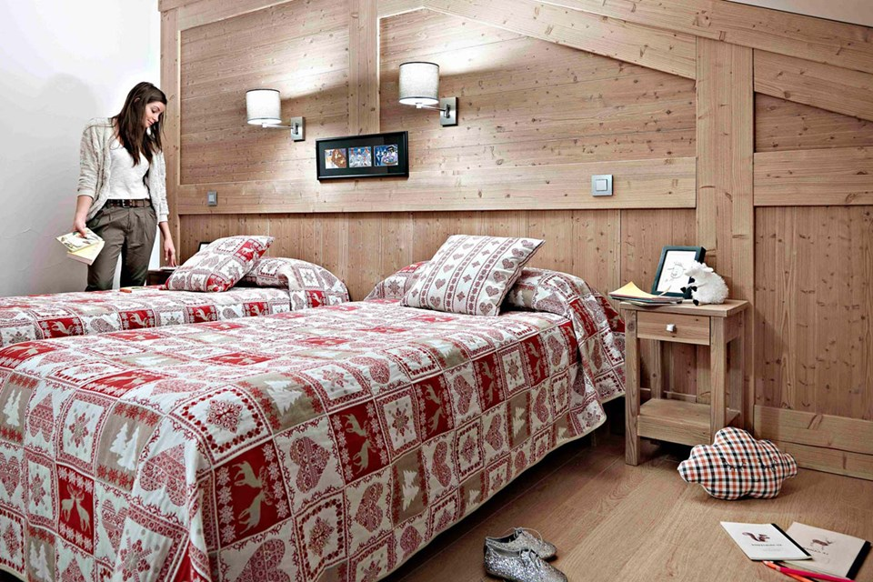 Le Ruitor, Sainte Foy (Tarentaise Valley) - Twin Bedroom