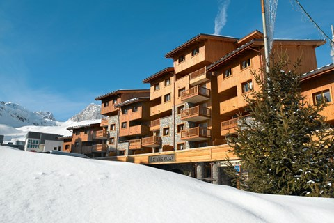 Le Nevada, Tignes Val Claret (self catered apartments)