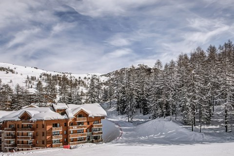 L'Albane, Vars (Foret Blanche) - Direct access to slopes