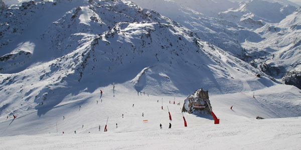 Courchevel and Meribel
