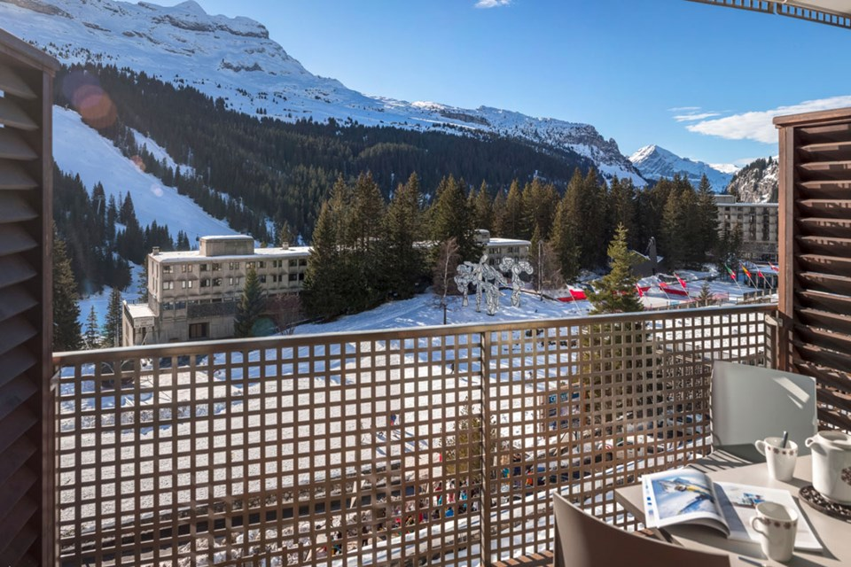 Le Centaure, Flaine (self catered apartments) - Balcony