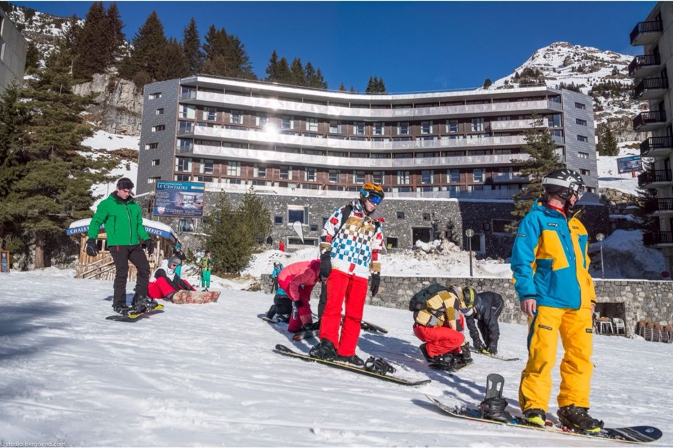 Le Centaure, Flaine (self catered apartments) - Easy ski access