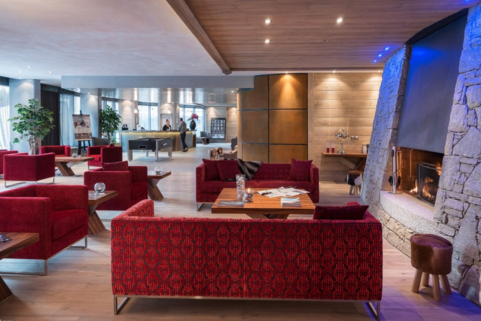 Le Centaure, Flaine (self catered apartments) - Reception