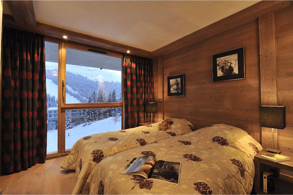 Le Centaure, Flaine (Grand Massif) - Twin Bedroom