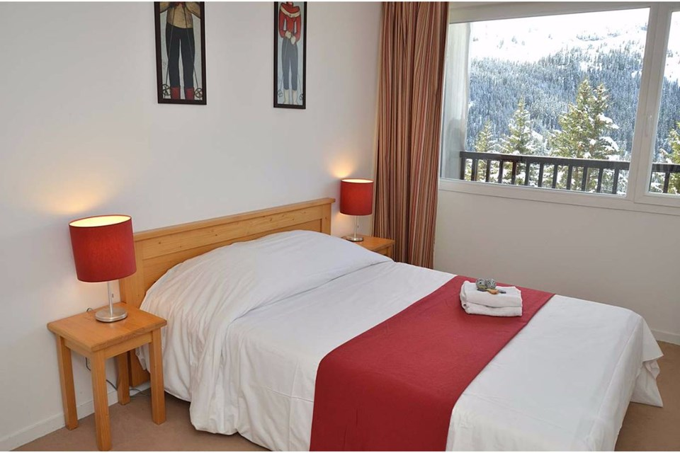 Les Pleiades, Flaine (Grand Massif) - Double Bedroom