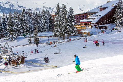 Hotel du Golf, Les Arcs 1800 (Paradiski) - Foot of the slopes
