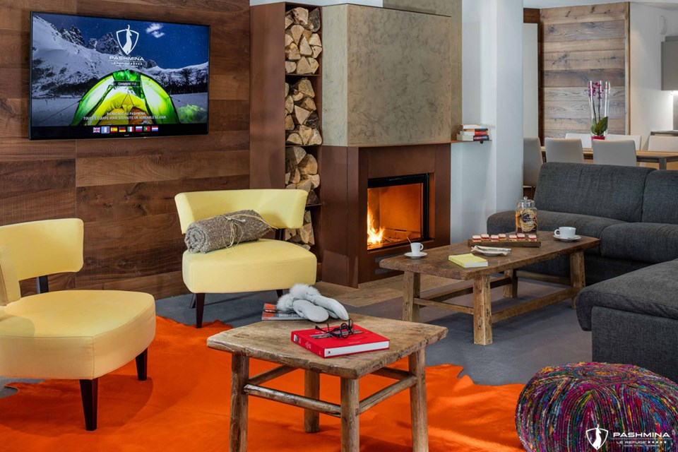 Pashmina (Val Thorens), Living room