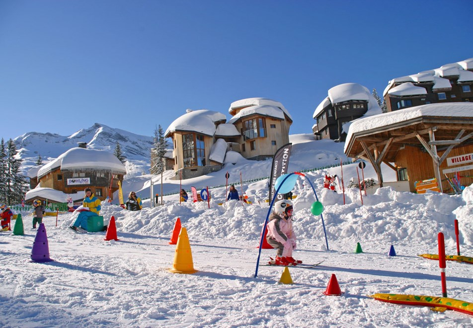 Avoriaz Ski Resort - Village des Enfants