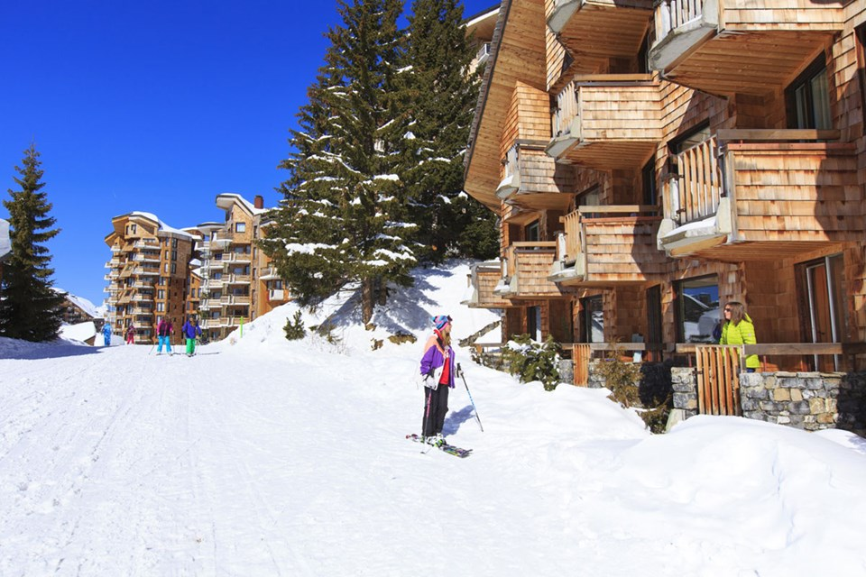 Avoriaz (Portes du Soleil) - Ski in Ski out resort ©Pascal-Gombert