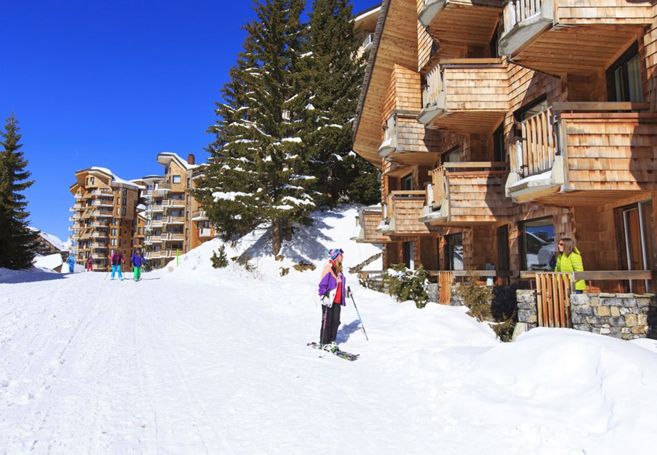 Avoriaz Ski Resort - Ski in Ski out resort (©Pascal-Gombert)