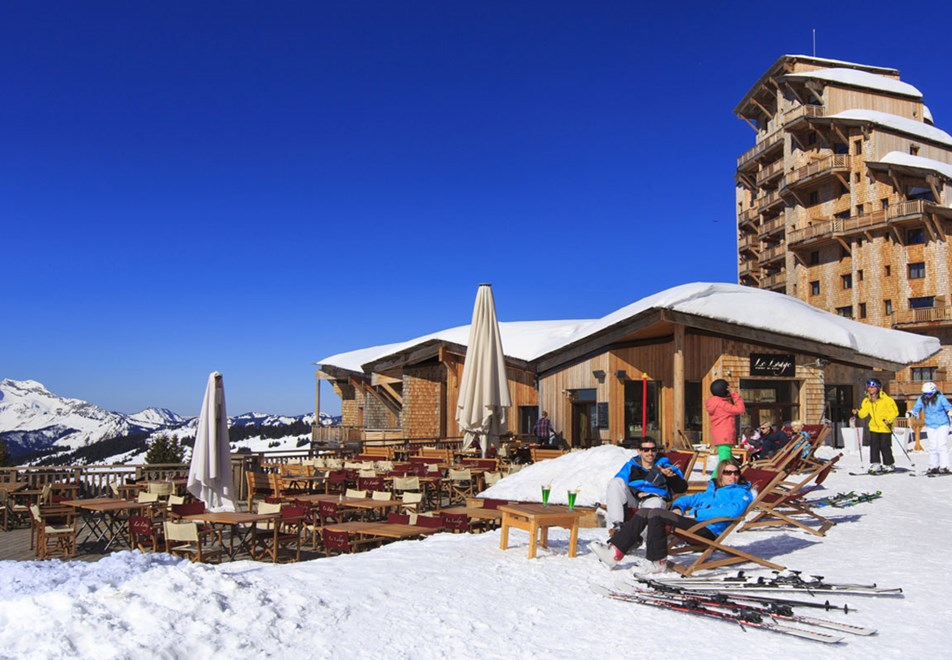 Avoriaz Ski Resort - Apres-ski in the sun (©Pascal-Gombert)