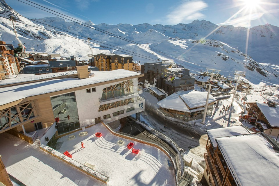 Club Med Sensations All Inclusive, Val Thorens (3 Valleys) - Views over resort