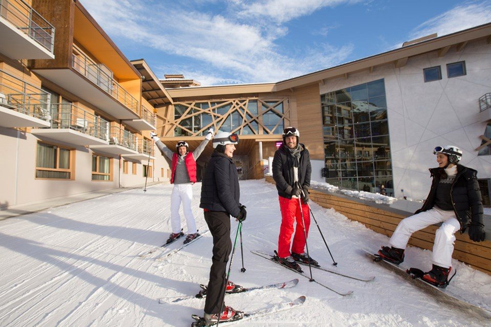 Club Med Sensations All Inclusive, Val Thorens (3 Valleys) - Ski in Ski out