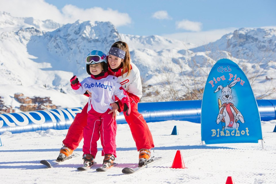 Club Med Alpe d'Huez All Inclusive, Alpe d'Huez - Childrens ski school