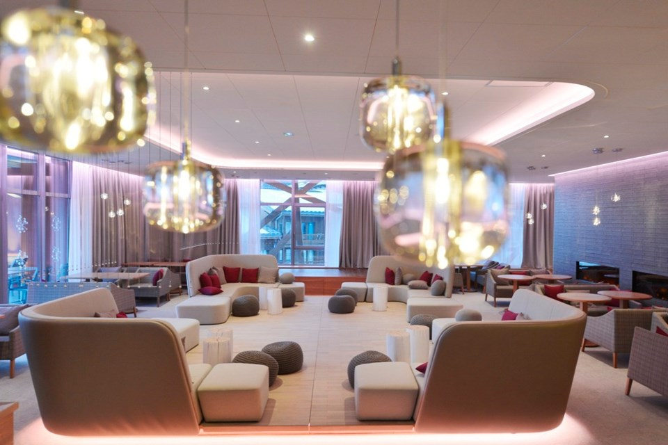 Club Med Val Thorens All Inclusive, Val Thorens (3 Valleys) - Lounge bar