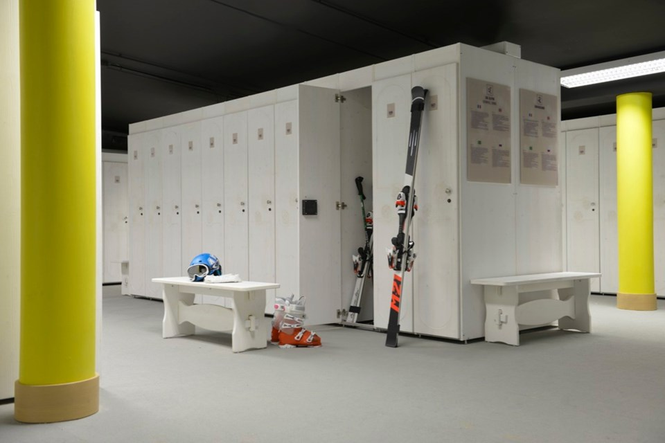 Club Med Val Thorens All Inclusive, Val Thorens (3 Valleys) - Ski lockers