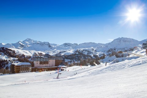 Club Med Aime la Plagne, La Plagne (Paradiski) - Right on the slopes