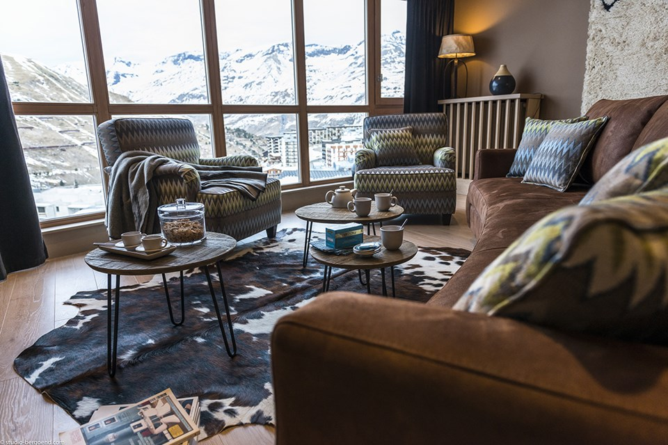 Le Taos, Tignes le Lac - Apartment (©Studio Bergoend)