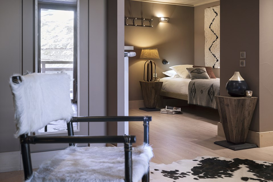 Le Taos, Tignes le Lac - Junior Suite (©Studio Bergoend)