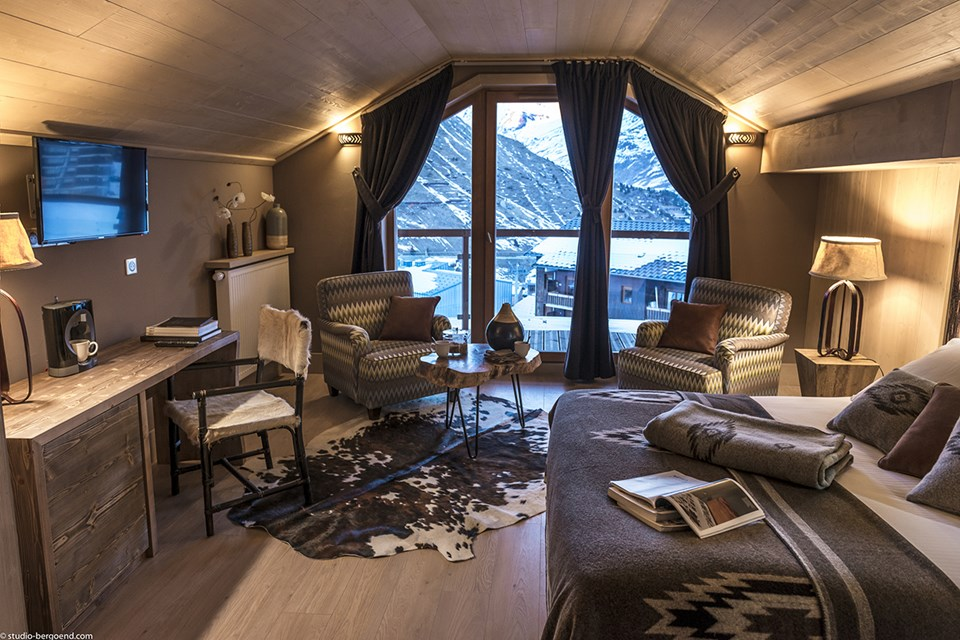 Le Taos, Tignes le Lac - Suite Duo Superior (©Studio Bergoend)