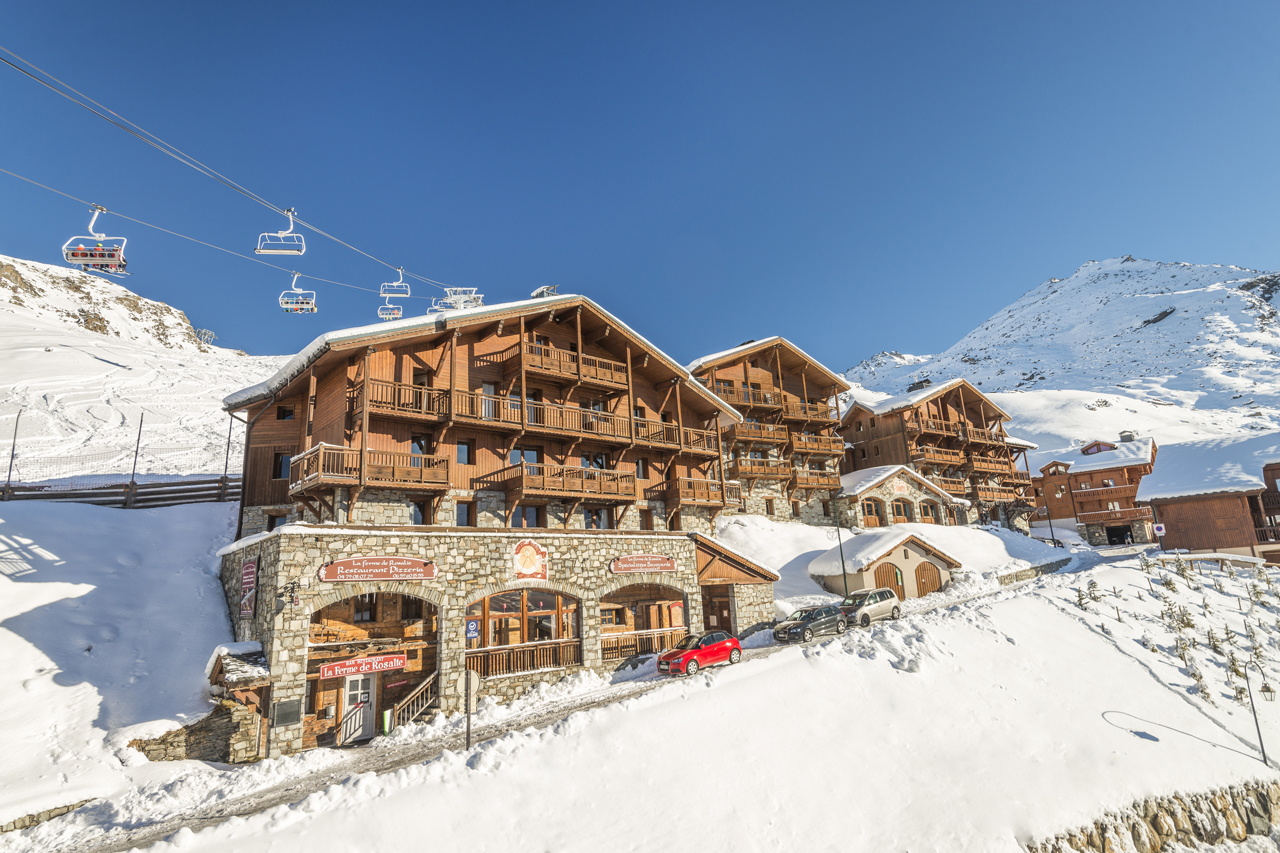 1 Of 22 Chalets De Rosael, Val Thorens (Self Catered Apartment)   Exterior