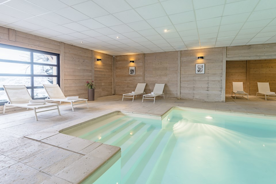 Chalets de Rosael, Val Thorens (3 Valleys) - Indoor Pool