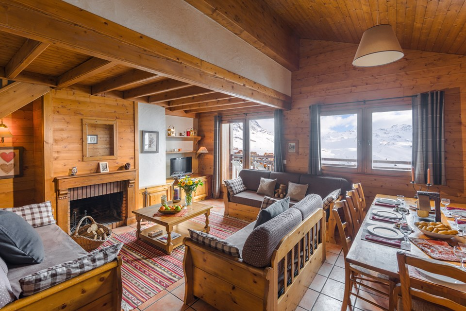 Chalets de Rosael, Val Thorens (3 Valleys) - Authentic Apartment