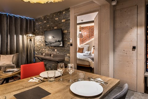 Chalet Skadi, Val d'Isere - Apartment sleeps 4