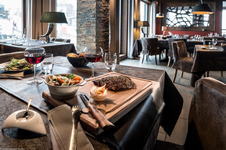 Le Hameau du Kashmir, Val Thorens (3 Valleys) - Restaurant Yack